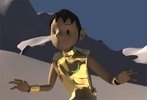 Goat boy sun